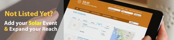 Add Solar Industry Event Listing | Solar Industry Events Directory | Worldwide