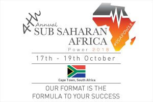 Sub Sahara Africa Power Summit 2018 #SSAPOW18
