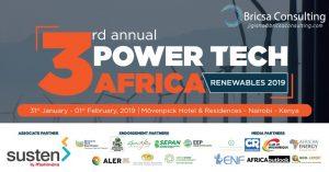 3rd Annual Power Tech Africa 2019