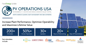 5th Solar PV Operations USA 2019