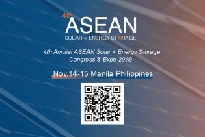 4th Annual ASEAN Solar + Energy Storage Congress & Expo 2019