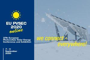 37th European Photovoltaic Solar Energy Conference and Exhibition (EU PVSEC) 2020