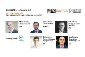 Energy Talks: Battery Storage Opportunities for Emerging Markets